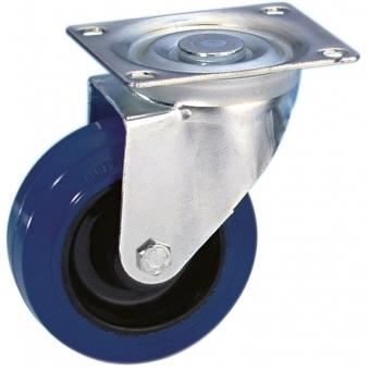 Guitel 37023 - Swivel Castor 100 mm with blue Wheel