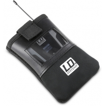 LD Systems BP POCKET 2 - Bodypack Transmitter Pouch with Transparent Window #5