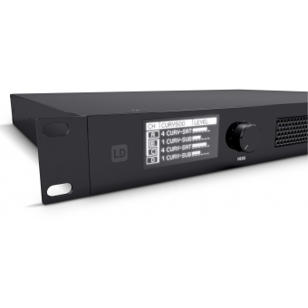 LD Systems CURV 500 I AMP - 4-Channel Class D Installation Amplifier #6