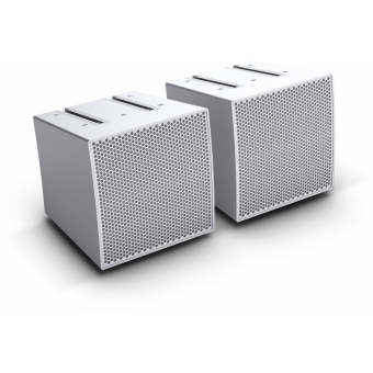 LD Systems CURV 500 S2 W - Two Array Satellites for the CURV 500® Portable Array System, White