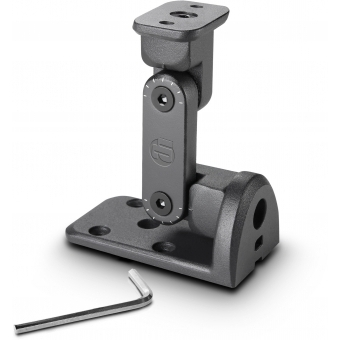 LD Systems CURV 500 WMB - Wall mounting bracket for CURV 500® satellites black #2
