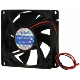 EUROLITE BF-12 Axial Fan 12V 80x80x25mm 45m³/h