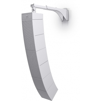 LD Systems CURV 500 WMBL W - Curv 500® Tilt & Swivel Wall Mount Bracket for up to 6 Satellites White #2