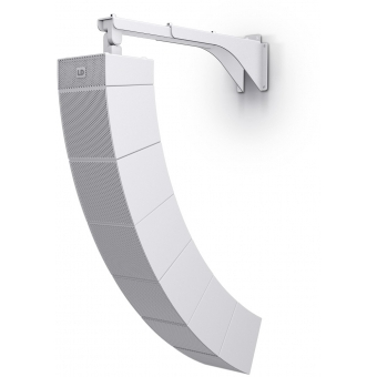 LD Systems CURV 500 WMBL W - Curv 500® Tilt & Swivel Wall Mount Bracket for up to 6 Satellites White #4