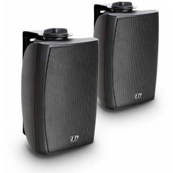 """LD Systems Contractor CWMS 42 B 100 V - 4"""" 2-way wall mount speaker 100 V black (pair)"""