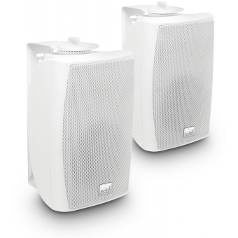 """LD Systems Contractor CWMS 42 W 100 V - 4"""" 2-way Wall Mount Speaker 100 V white (pair)"""