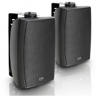 """LD Systems Contractor CWMS 52 B - 5.25"""" 2-way Wall Mount Speaker black (pair)"""