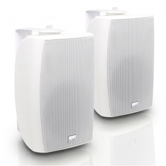 """LD Systems Contractor CWMS 52 W - 5.25"""" 2-way Wall Mount Speaker white (pair)"""