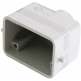ILME Socket Casing for 6-pin, PG13,5, straight
