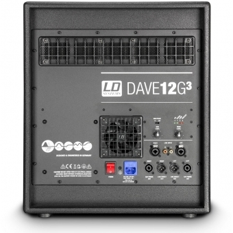 "LD Systems DAVE 12 G3 - Compact 12"" active PA System #5"