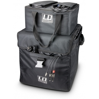 LD Systems DAVE 8 SET 1 - Transport bags with wheels for DAVE 8 systems #4