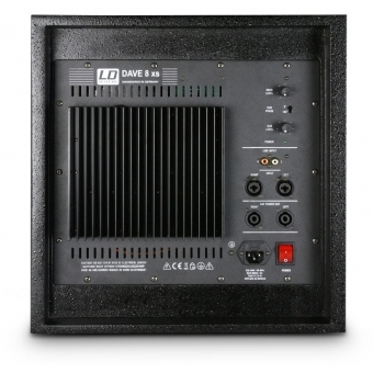 LD Systems DAVE 8 XS - Compact active PA system #2