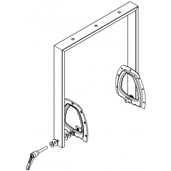 LD Systems DDQ 15 SB - Swing Bracket for LDDDQ15 #3