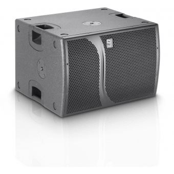 """LD Systems DDQ SUB 212 - 2 x 12"""" active PA Subwoofer with DSP #3"""