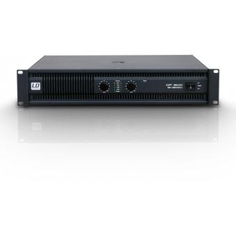 LD Systems DEEP2 600 - PA Power Amplifier 2 x 300 W 2 Ohms