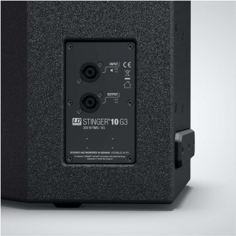 "LD Systems STINGER 10 G3 - 2-Way Passive 10"" Bass Reflex PA Speaker #7"