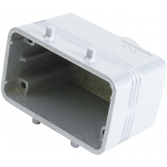 ILME Socket Casing for 10-pin, PG 16, straight