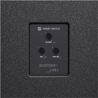 """LD Systems STINGER SUB 15 G3 - Passive 15"""" Bass Reflex PA Speaker #7"""