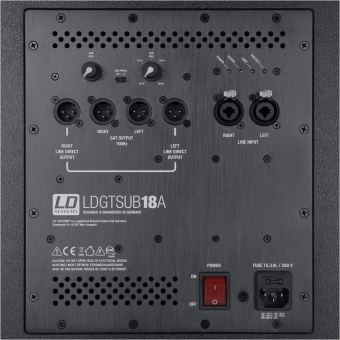 "LD Systems GT SUB 18 A - 18"" powered subwoofer #4"