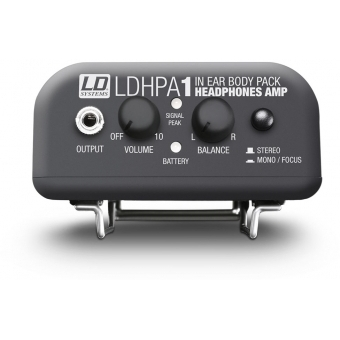 LD Systems HPA 1 - Amplifier for headphones and wired IEM #5