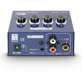 LD Systems HPA 4 - Headphone Amplifier 4-channel #2