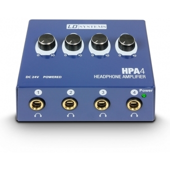LD Systems HPA 4 - Headphone Amplifier 4-channel