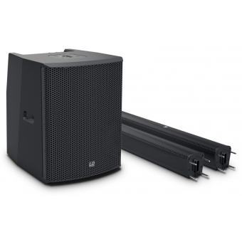 LD Systems MAUI 28 G2 - Compact column PA system active with built-in mixer and Bluetooth black #8