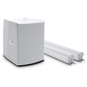 LD Systems MAUI 28 G2 W - Compact Column PA System with Mixer and Bluetooth white #8