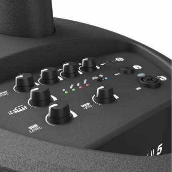 LD Systems MAUI 5 - Ultra-Portable Column PA System with Mixer and Bluetooth #7