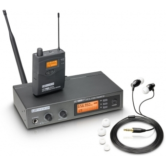 LD Systems MEI 1000 G2 B 6 - In-Ear Monitoring System wireless band 6 655 - 679 MHz