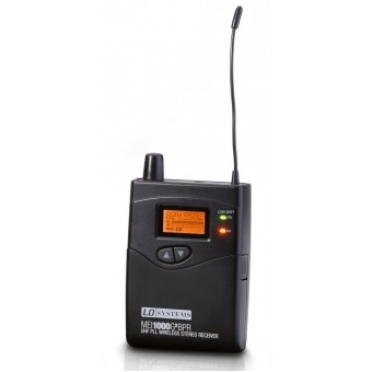 LD Systems MEI 1000 G2 BPR - Receiver for LDMEI1000G2 In-Ear Monitoring System