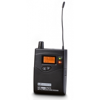 LD Systems MEI 1000 G2 BPR B 6 - Receiver for LDMEI1000G2 In-Ear Monitoring System band 6 655 - 679 MHz