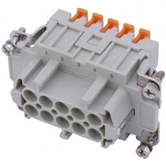 ILME Squich Socket Insert 10-pin 16A 500V