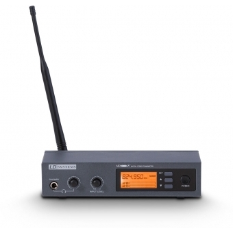 LD Systems MEI 1000 G2 T - Transmitter for LDMEI1000G2 In-Ear Monitoring System