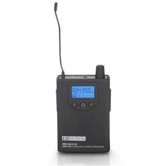 LD Systems MEI 100 G2 BPR - Receiver for LDMEI100G2 In-Ear Monitoring System