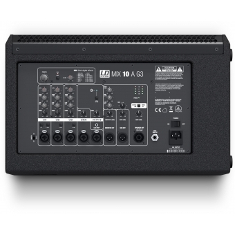 LD Systems MIX 10 A G3 - Active 2-Way Loudspeaker with Integrated 7-Channel Mixer #6
