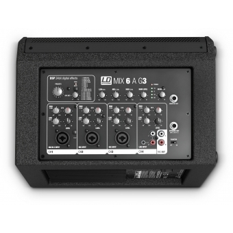 LD Systems MIX 6 A G3 - Active 2-Way Loudspeaker with Integrated 4-Channel Mixer #7