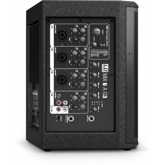 LD Systems MIX 6 A G3 - Active 2-Way Loudspeaker with Integrated 4-Channel Mixer #9