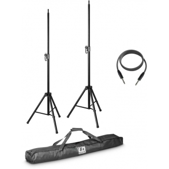 LD Systems MIX 6 G2 SET 2 - 2 x speaker stand with transport bag and speaker cable 10 m for MIX 6 (A) G2