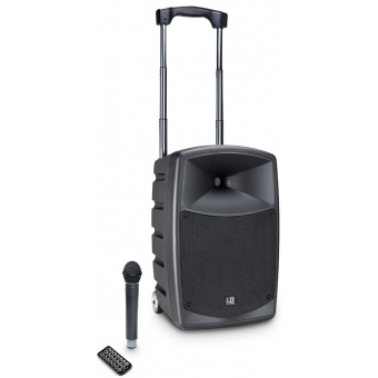 LD Systems ROADBUDDY 10 - Battery Powered Bluetooth Speaker with Mixer and Wireless Microphone