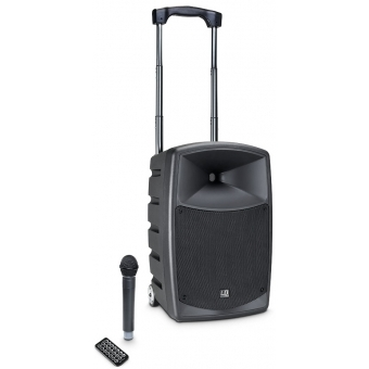 LD Systems ROADBUDDY 10 B5 - Battery Powered Bluetooth Speaker with Mixer and Wireless Microphone