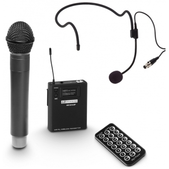 LD Systems ROADBUDDY 10 HBH 2 - Battery-Powered Bluetooth Speaker with Mixer, Wireless Microphone, Bodypack and Headset #8