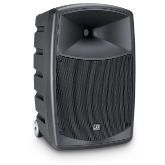 LD Systems ROADBUDDY 10 HS - Battery Powered Bluetooth Speaker with Mixer, Bodypack and Headset #3