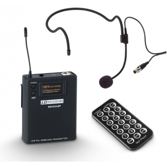 LD Systems ROADBUDDY 10 HS - Battery Powered Bluetooth Speaker with Mixer, Bodypack and Headset #7
