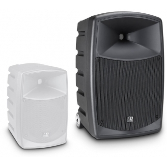 LD Systems ROADBUDDY 10 HS B5 - Battery Powered Bluetooth Speaker with Mixer, Bodypack and Headset #9