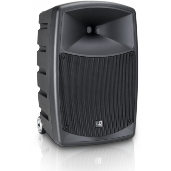 LD Systems ROADBUDDY 10 HS B6 - Battery Powered Bluetooth Speaker with Mixer, Bodypack and Headset #3