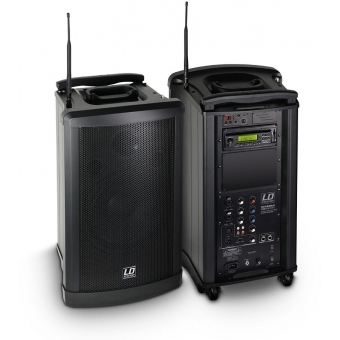 LD Systems Roadman 102 - Portable PA Speaker with Handheld Microphone #3