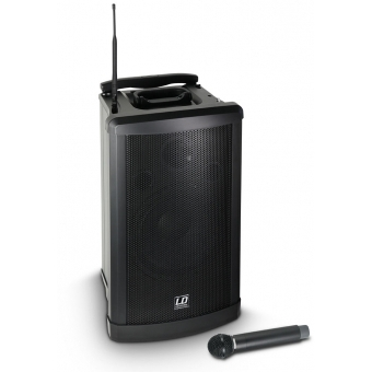 LD Systems Roadman 102 - Portable PA Speaker with Handheld Microphone