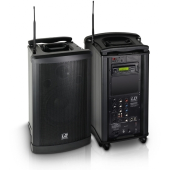 LD Systems Roadman 102 B5 - Portable PA Speaker with Handheld Microphone #3