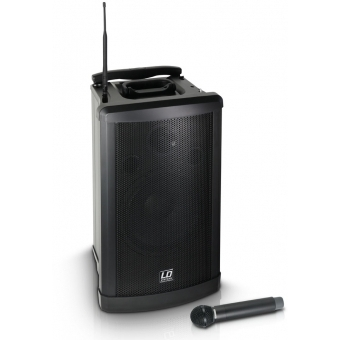 LD Systems Roadman 102 B6 - Portable PA Speaker with Handheld Microphone